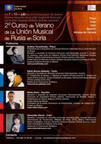 Conciertos Unión Musical de Rusia
