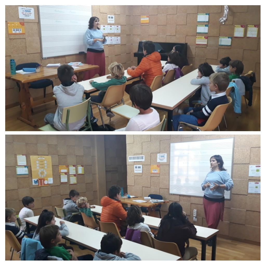 Alumnos y alumnas de Lenguaje Musical Individual