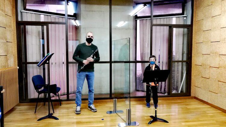 Clases de clarinete en la Escuela de Música de Soria Enclave Musical